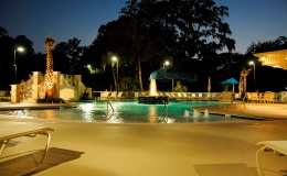 Coral sands commercial pool with-beach-entry-and-bubblers
