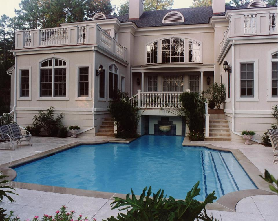Pinterest the world s catalog of ideas for Year round pool residential