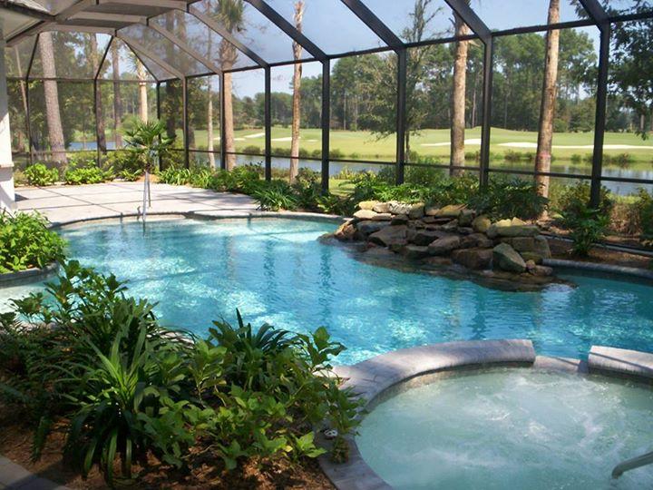 Bluffton Residental Pool Design Photos Charleston Pool