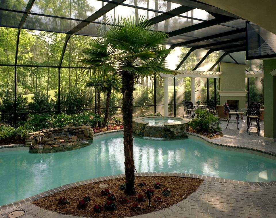 Bluffton residental pool design photos charleston pool for Pool design help