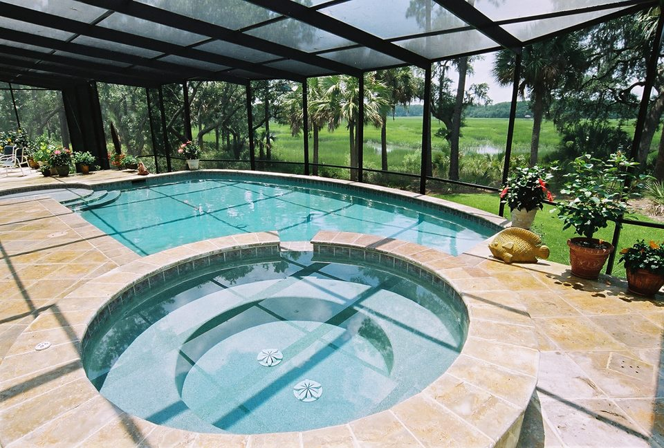 bluffton residental pool design photos charleston pool