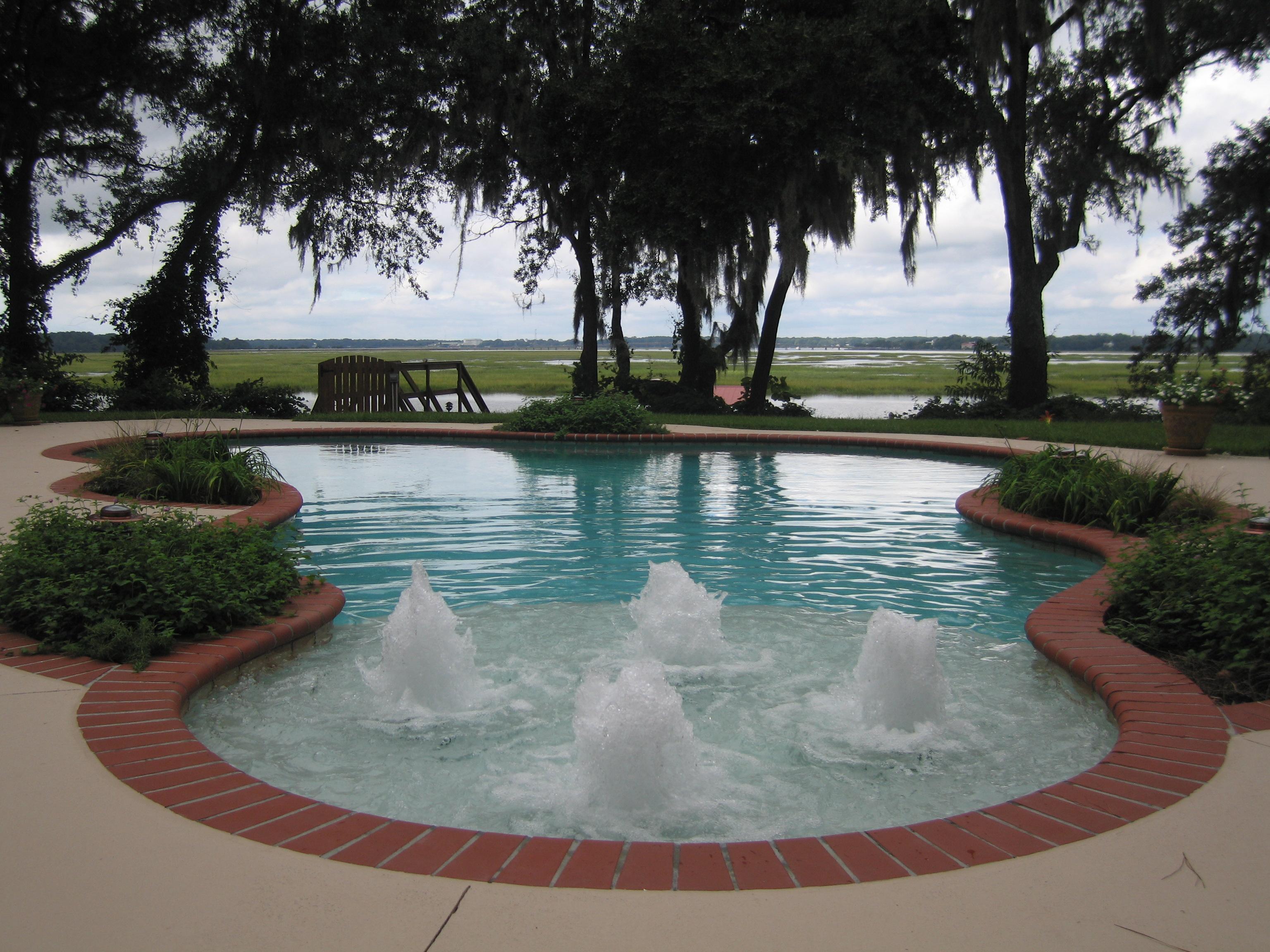 Savannah Pool Designs In Charleston, Bluffton, Hilton Head