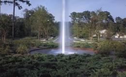 fountain-in-lake