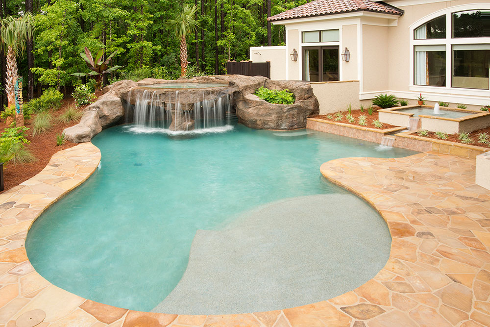 Savannah Pool Designs in Charleston, Bluffton, Hilton Head : Year ...