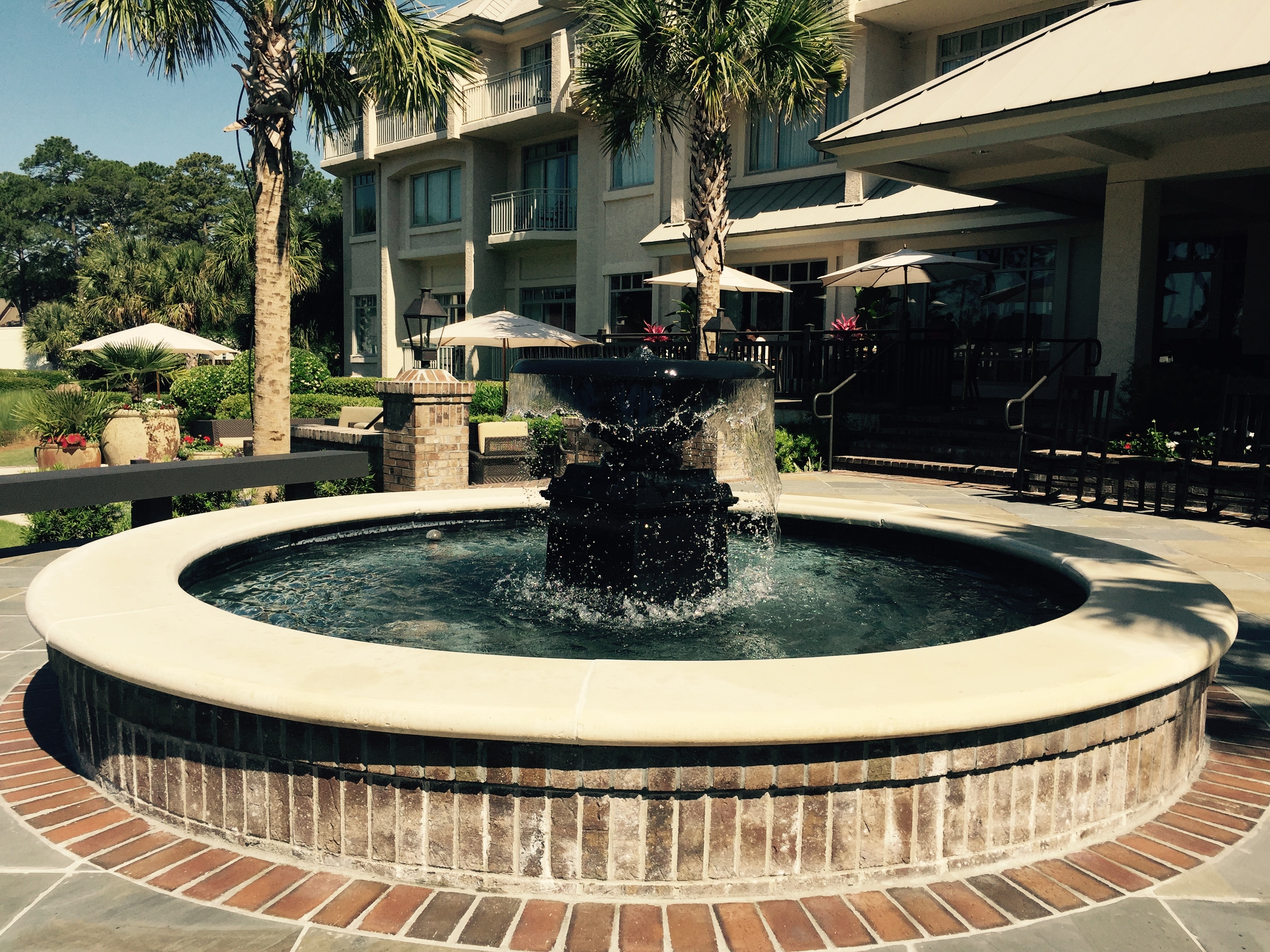 Customized Pool Water Features In Savannah Charleston