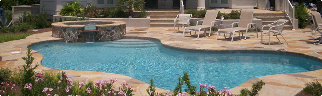 Residential Swimming Pool Designs : Residential Savannah Pool Design, Bluffton Residental Pool Design ...