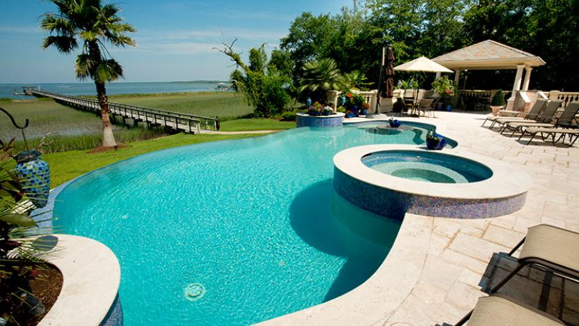 Featured by luxury pools year round pool year round pool for Year round pool residential